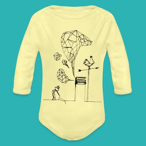 Carta_gatta-png - Body ecologico per neonato a manica lunga