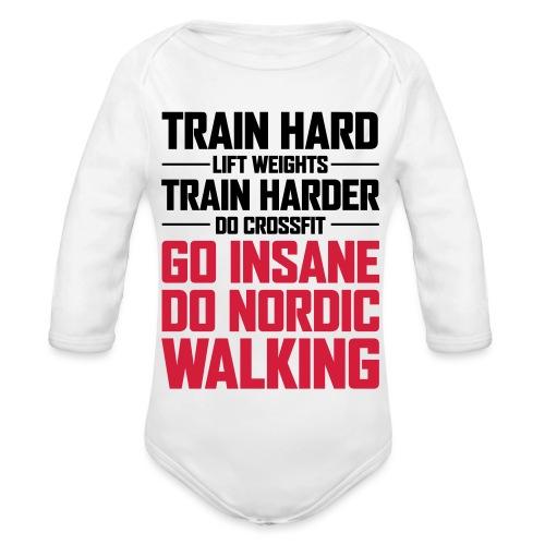 Nordic Walking - Go Insane - Vauvan pitkähihainen luomu-body