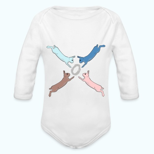 Easter - Organic Longsleeve Baby Bodysuit