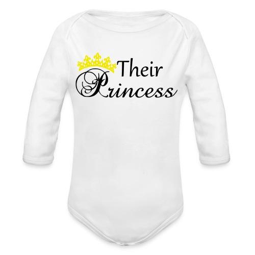 Their Princess - Ekologisk långärmad babybody