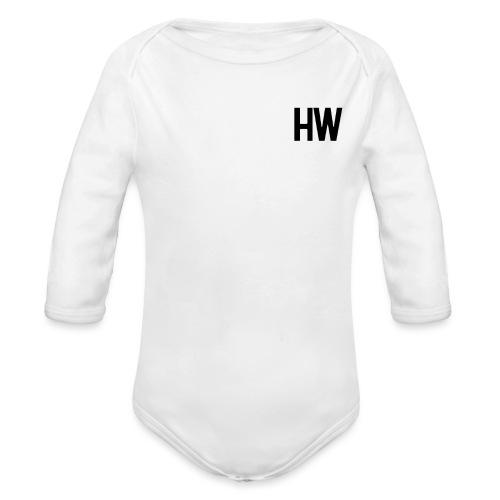 Diskreter Hilari Wiiber Fan - Baby Bio-Langarm-Body