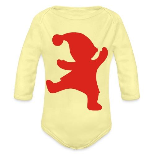 Santas helper - Vauvan pitkähihainen luomu-body
