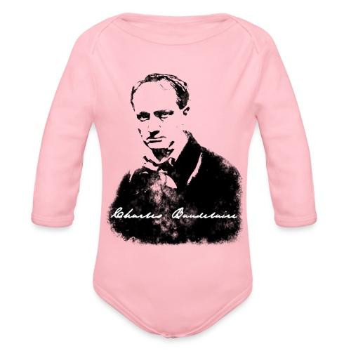 Charles Baudelaire - Body Bébé bio manches longues