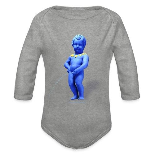 EUROPA mannekenpis ♀♂ | Enfant - Body Bébé bio manches longues