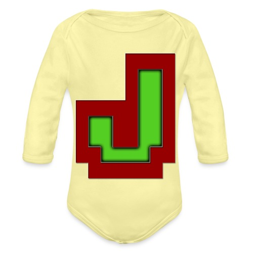 Stilrent_J - Langærmet babybody, økologisk bomuld