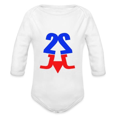2j_sport - Langærmet babybody, økologisk bomuld