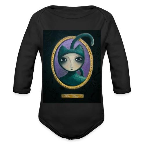 Miss Kitty t-shirt - Body Bébé bio manches longues