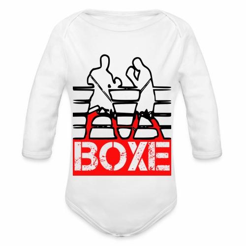 BOXE - Body ecologico per neonato a manica lunga