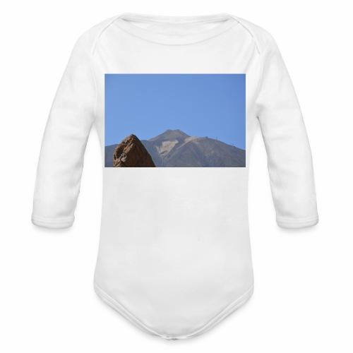 Teide - Teneriffa - Baby Bio-Langarm-Body