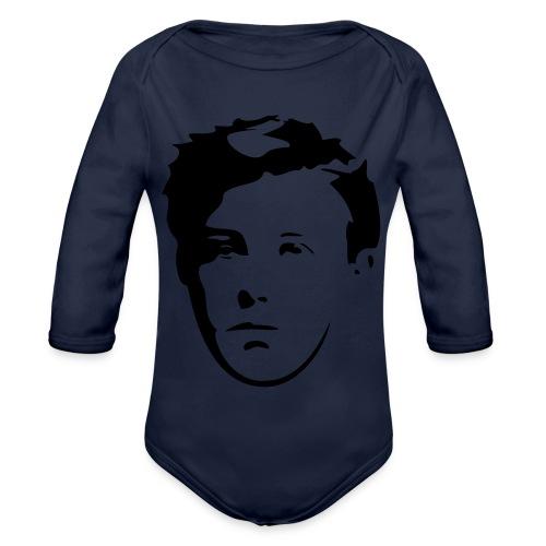 Arthur Rimbaud visage - Body Bébé bio manches longues