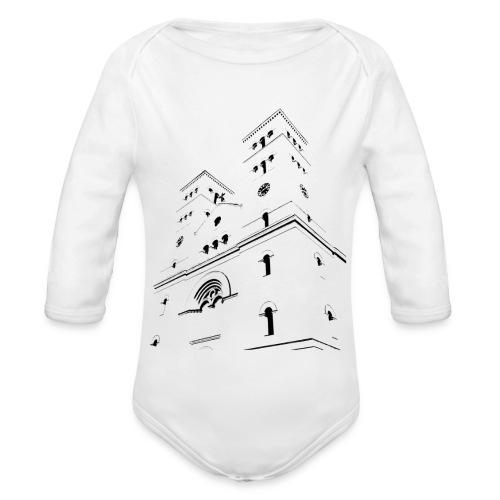 Church - Ekologiczne body niemowlęce z długim rękawem