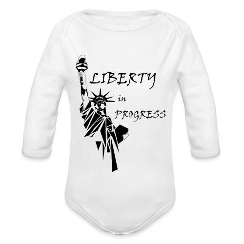 Liberty in progress - Ekologiczne body niemowlęce z długim rękawem