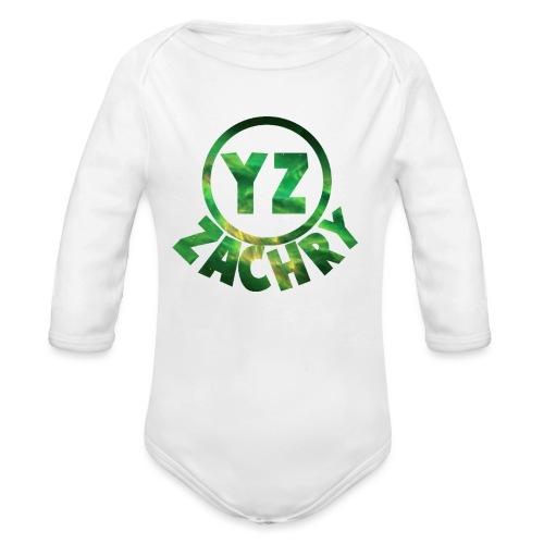 YZ-thank top kids - Baby bio-rompertje met lange mouwen
