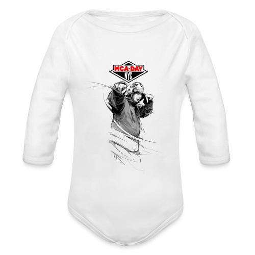 MCA - Organic Longsleeve Baby Bodysuit