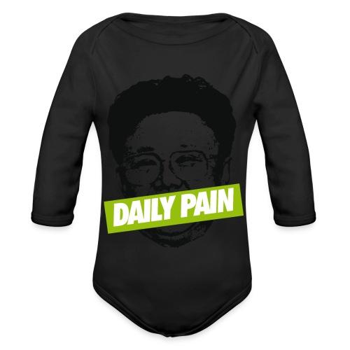daily pain cho - Ekologiczne body niemowlęce z długim rękawem
