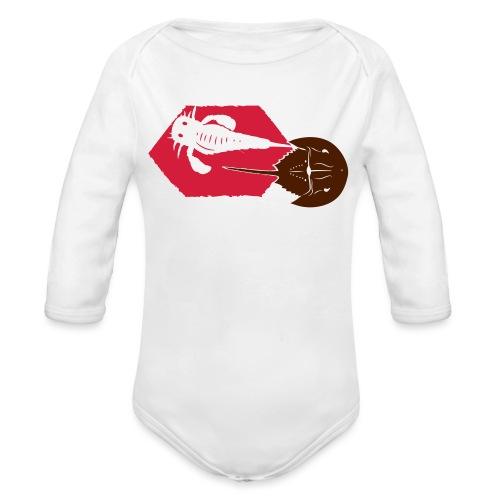 Deep Time Special - Organic Longsleeve Baby Bodysuit