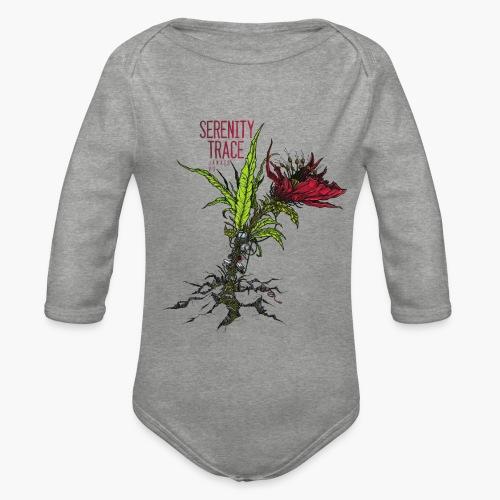 Serenity Trace - Jamais Vu Cover - Økologisk langermet baby-body