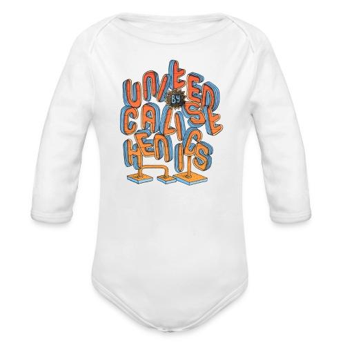 United Calisthenics - Baby bio-rompertje met lange mouwen