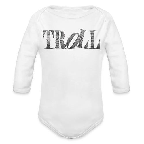 Troll - Organic Longsleeve Baby Bodysuit