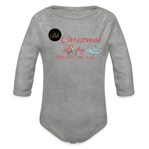 Christmas Baby - Billionaire Designs - Organic Longsleeve Baby Bodysuit