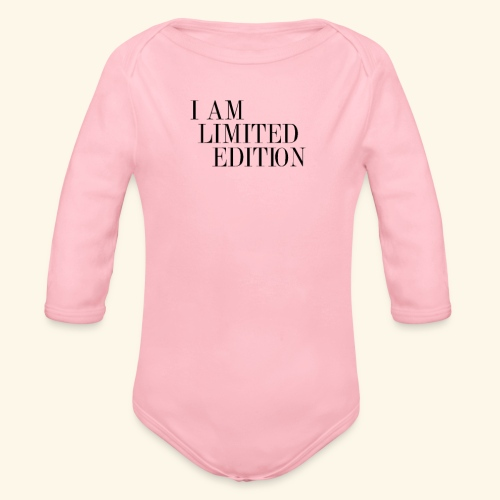Limited edition - Ekologisk långärmad babybody