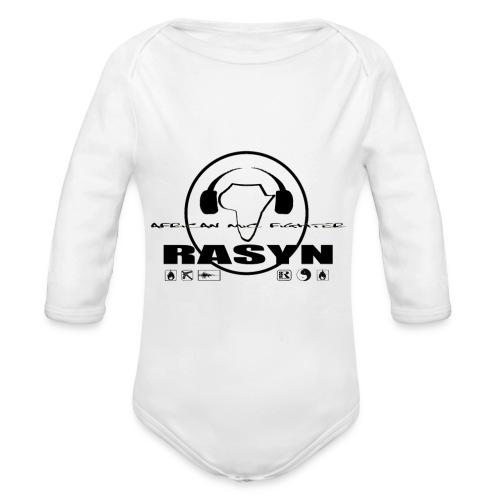 RASYN Peace Africa ® - Baby Bio-Langarm-Body