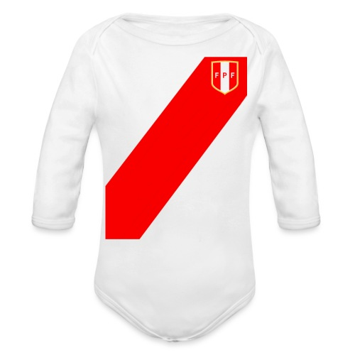 Seleccion peruana de futbol - Body orgánico de manga larga para bebé