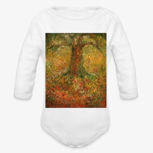Invisible Tree - Ekologiczne body niemowlęce z długim rękawem