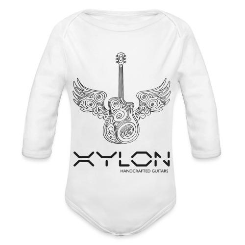 Xylon Guitars Premium T-shirt - Organic Longsleeve Baby Bodysuit