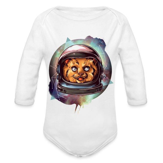 Gatto Astronauta Cat Comico Divertente