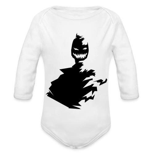 t shirt monster (black/schwarz) - Baby Bio-Langarm-Body