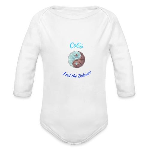 CoGie, Feel the Balance - Organic Longsleeve Baby Bodysuit