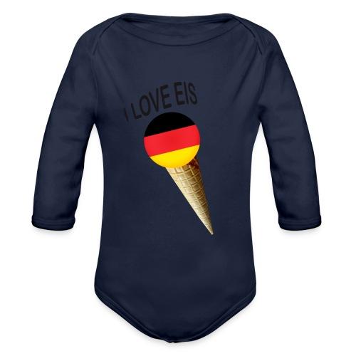 Fußball WM Fan Geschenk - Baby Bio-Langarm-Body
