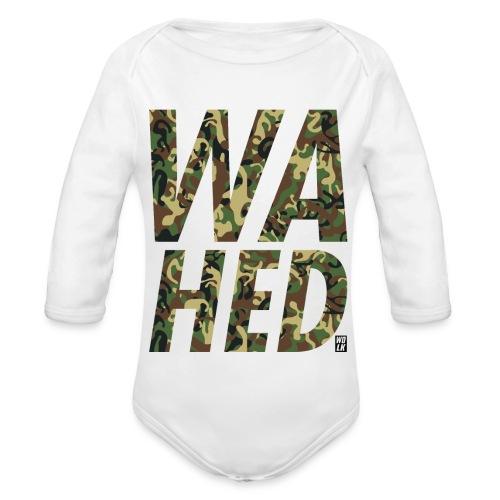 WAHED - Baby bio-rompertje met lange mouwen