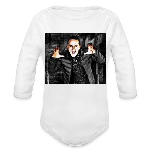 SASH! ***Scream Loud*** - Organic Longsleeve Baby Bodysuit