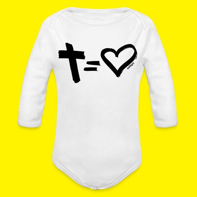 Cross = Heart BLACK