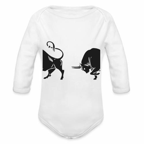 TORO - BULL - Body ecologico per neonato a manica lunga