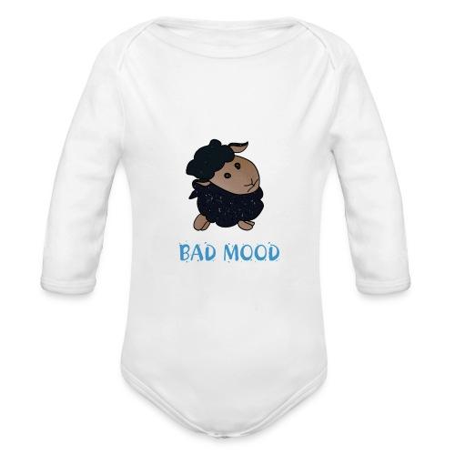 Badmood - Gaspard le petit mouton noir - Body Bébé bio manches longues