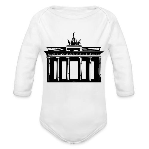 Brandenburger Tor - Baby Bio-Langarm-Body