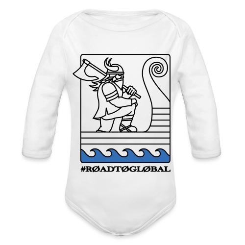 ROAD TO GLOBAL CS:GO - Organic Longsleeve Baby Bodysuit