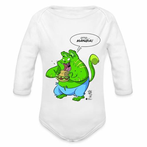 OTTO - Body ecologico per neonato a manica lunga