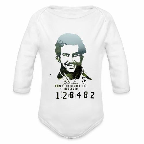 Pablo Escobar - Regenwald in Kolumbien - Baby Bio-Langarm-Body