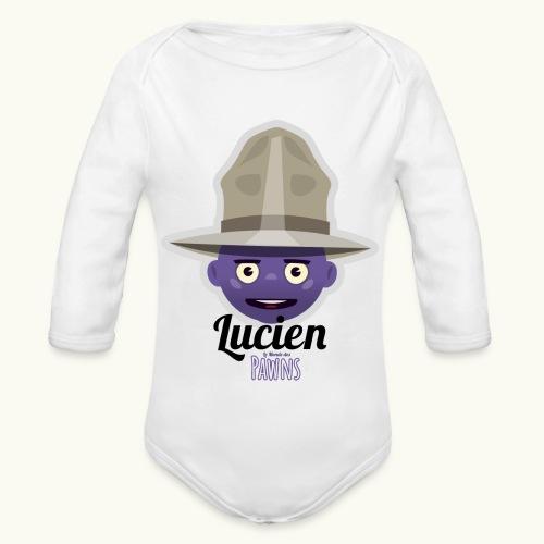 Lucien (Le monde des Pawns) - Body Bébé bio manches longues