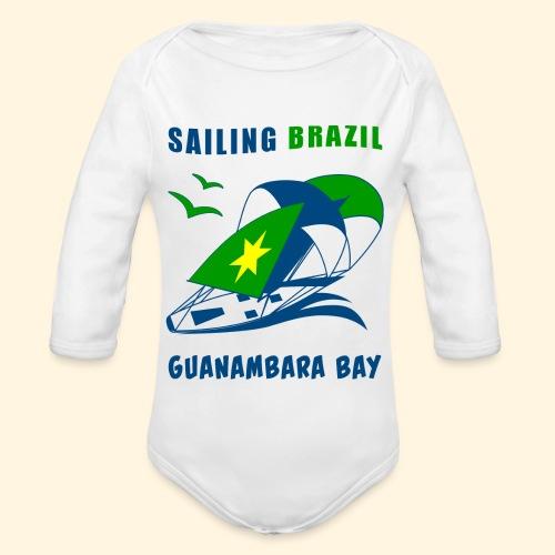 Sailing Brazil - Organic Longsleeve Baby Bodysuit