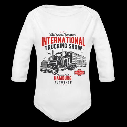 Hamburg Trucking Show - Baby Bio-Langarm-Body