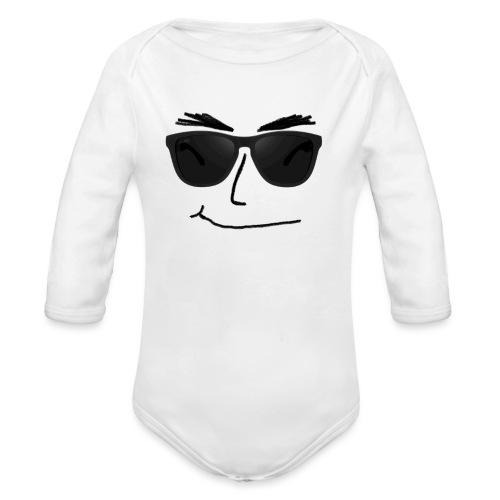 sunglasses2 - Baby Bio-Langarm-Body