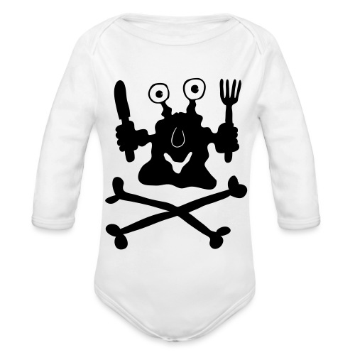 Koch - Baby Bio-Langarm-Body