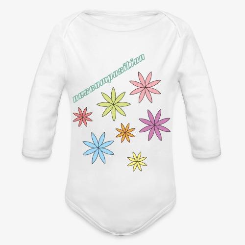 SOLRAC composition - Body orgánico de manga larga para bebé