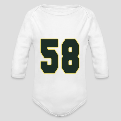 American | College | Football - 58 - Baby Bio-Langarm-Body
