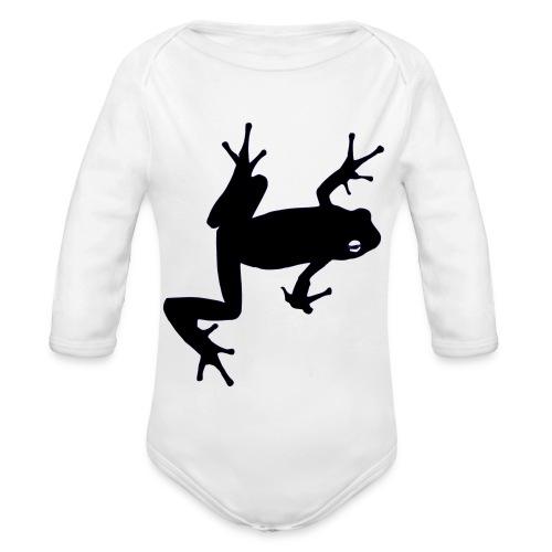 Frosch - Baby Bio-Langarm-Body
